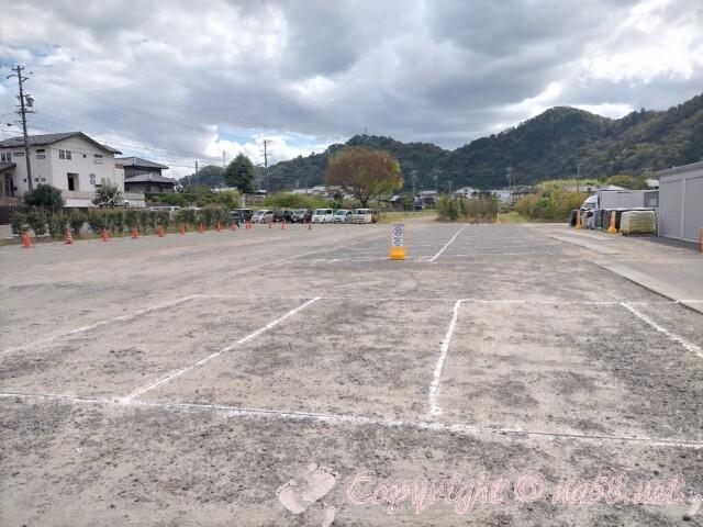 日本ライン花木センター・駐車場